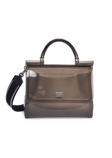 Dolce & Gabbana Sicily PVC Top Handle Bag