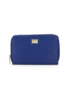 Dolce & Gabbana Sicily Zip Around Continental Wallet