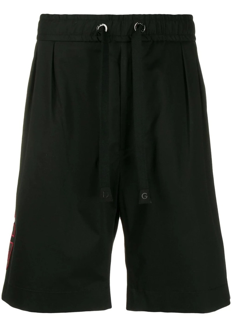 Dolce & Gabbana side panelled shorts