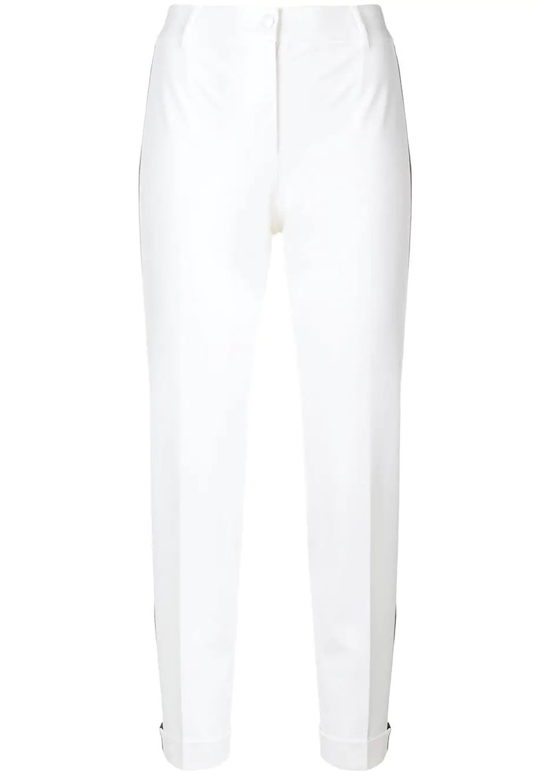 Dolce & Gabbana side-stripe skinny trousers