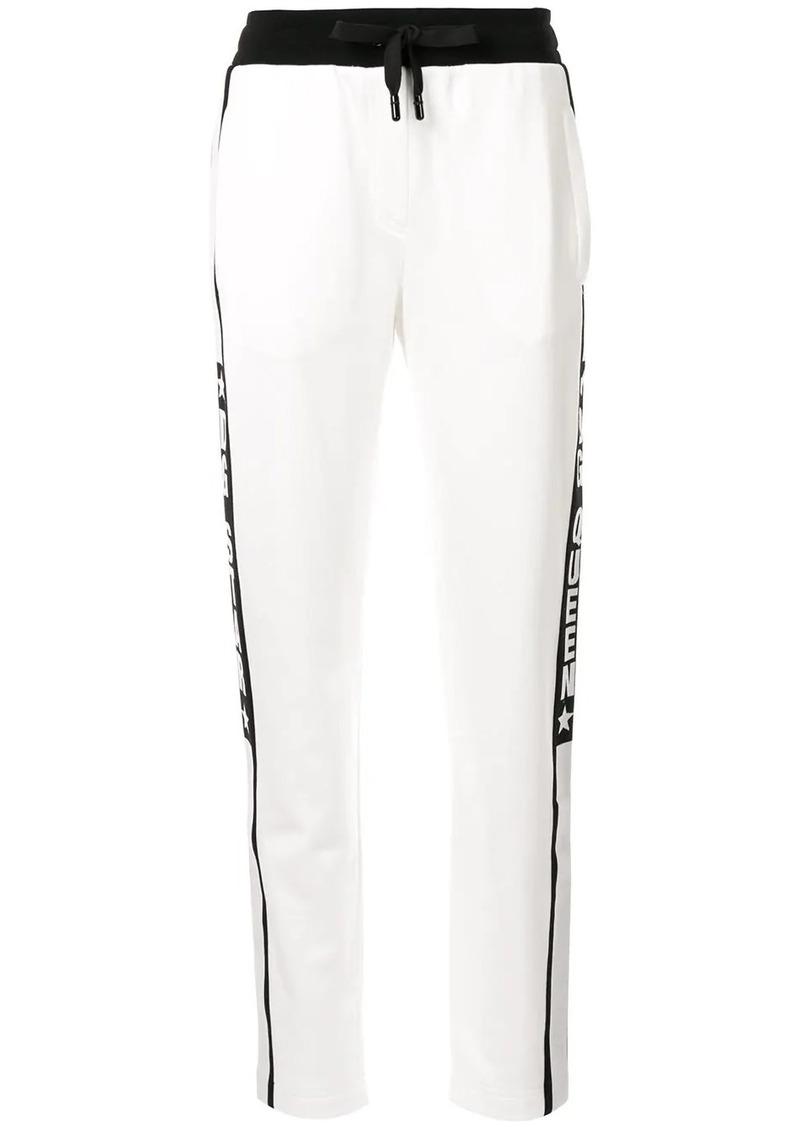 Dolce & Gabbana side stripe track pants