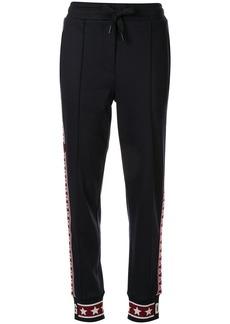 Dolce & Gabbana side-stripe tracksuit bottoms