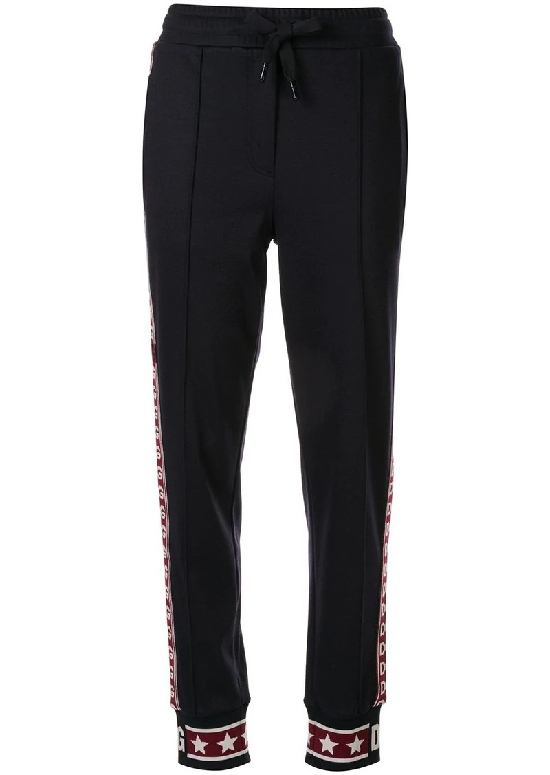 Dolce & Gabbana side-stripe tracksuit bottoms