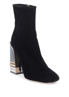 Dolce & Gabbana Side Zip Booties