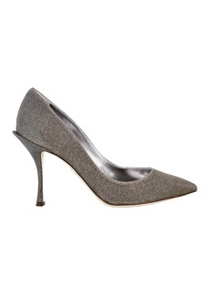 Dolce & Gabbana Silver Metallic Pumps