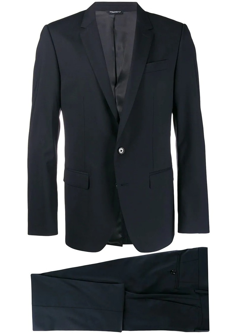 Dolce & Gabbana single breasted two piece suit