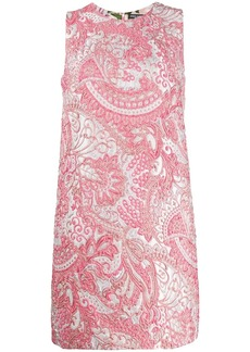 Dolce & Gabbana sleeveless jacquard dress