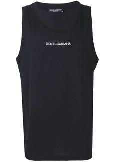 Dolce & Gabbana sleeveless logo tank top