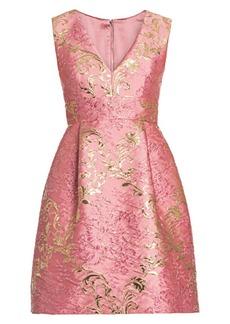 Dolce & Gabbana Sleeveless V-Neck Jacquard Dress