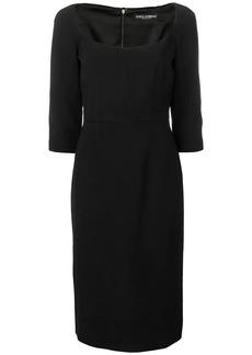 Dolce & Gabbana slim-fit midi dress