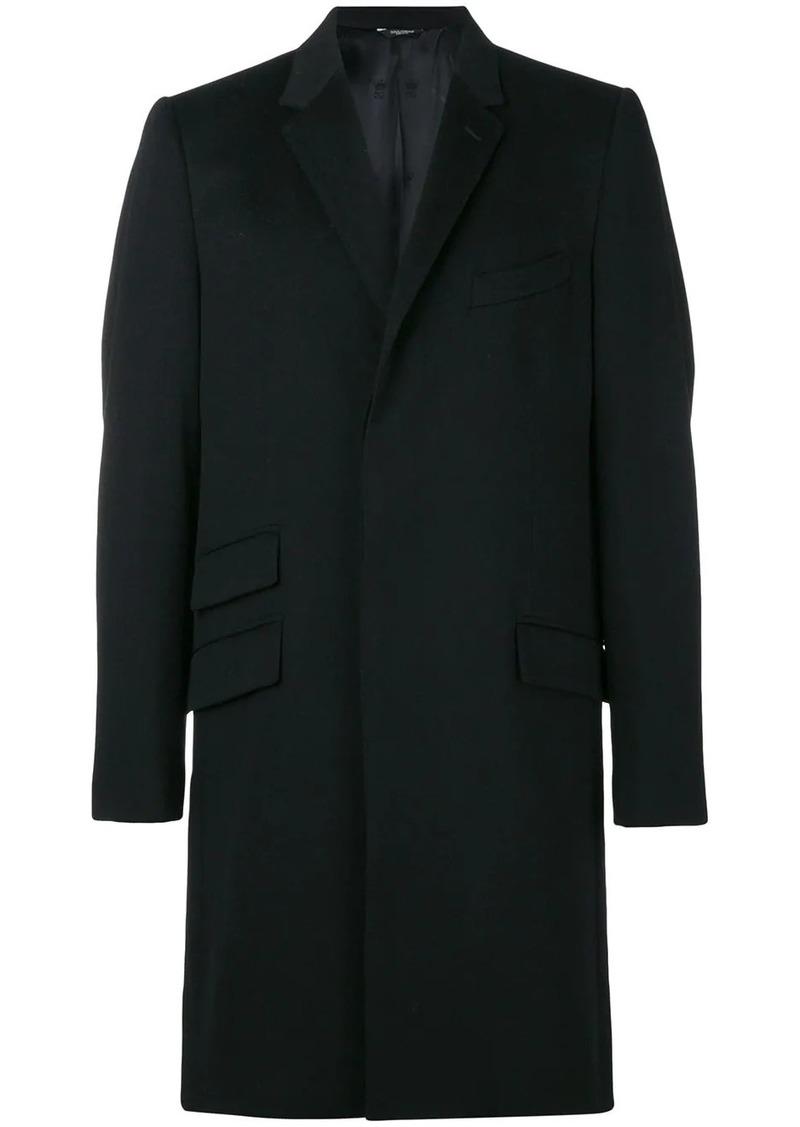 Dolce & Gabbana slim-fit single breasted coat