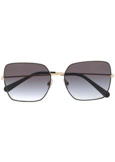 Dolce & Gabbana Slim square-frame sunglasses