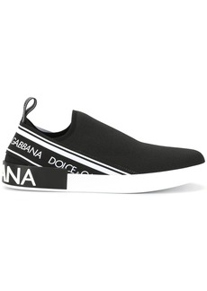 Dolce & Gabbana slip on logo sneakers