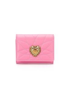 Dolce & Gabbana small Devotion continental wallet