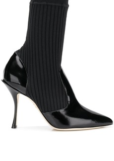 Dolce & Gabbana sock ankle boots