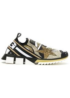 Dolce & Gabbana Sorrento comet-print sneakers