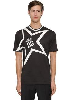 Dolce & Gabbana Star Dg Super Light Jersey T-shirt