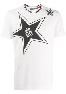 Dolce & Gabbana star print logo T-shirt