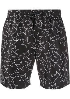 Dolce & Gabbana star printed swim shorts