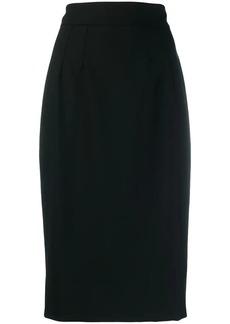 Dolce & Gabbana straight fit knee-length skirt