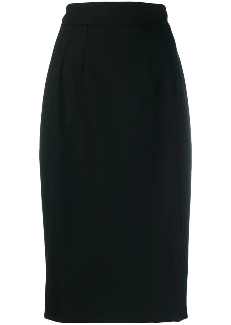 Dolce & Gabbana straight fit knee-length skirt