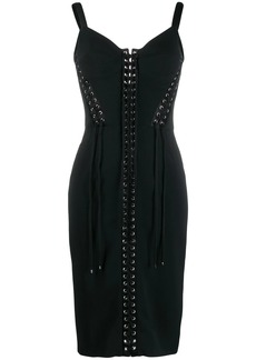 Dolce & Gabbana stretch cady bustier dress
