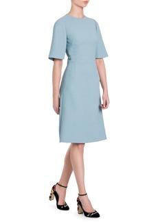 Dolce & Gabbana Stretch Cady Dress