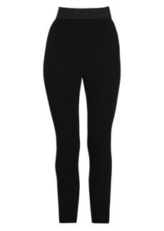 Dolce & Gabbana Stretch Cady Leggings