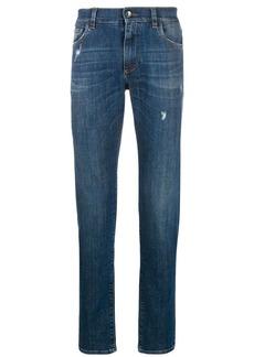 Dolce & Gabbana stretch slim-fit jeans
