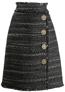 Dolce & Gabbana striped pencil skirt