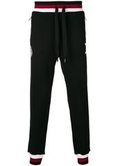 Dolce & Gabbana striped-trim track trousers