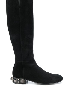 Dolce & Gabbana studded heel boots