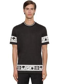 Dolce & Gabbana Super Light Cotton Jersey T-shirt