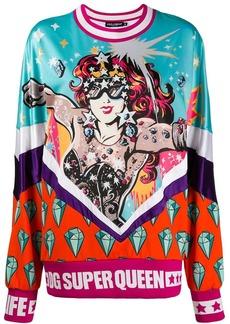 Dolce & Gabbana Super Queen print sweatshirt