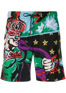 Dolce & Gabbana Superhero King swim shorts