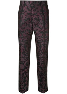 Dolce & Gabbana tailored jacquard trousers