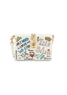 Dolce & Gabbana Take A Selfie Acrylic Box Crossbody Bag