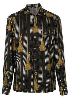 Dolce & Gabbana tassel printed shirt