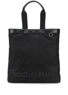 Dolce & Gabbana technical logo tote bag