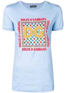 Dolce & Gabbana textured detail T-shirt