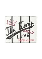 Dolce & Gabbana The King Bifold Wallet