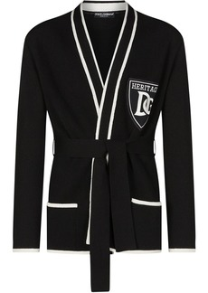 Dolce & Gabbana tie-waist cashmere cardigan