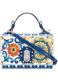 Dolce & Gabbana tile print shoulder bag