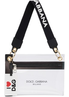 Dolce & Gabbana Transparent PVC Pouch