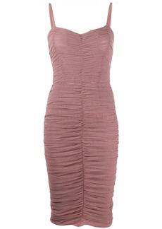 Dolce & Gabbana tulle draped dress