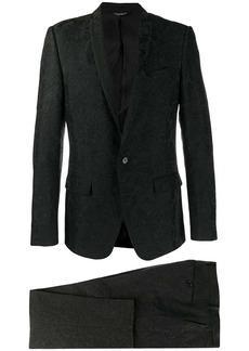 Dolce & Gabbana two-piece jacquard suit