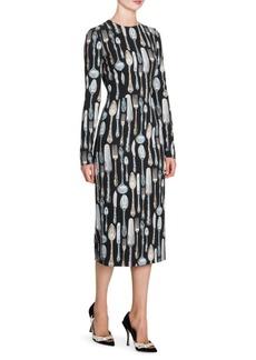 Dolce & Gabbana Utensil Print Dress