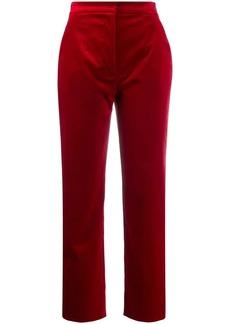 Dolce & Gabbana velvet high waisted trousers