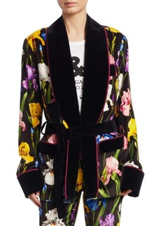 Dolce & Gabbana Velvet Smoking Jacket