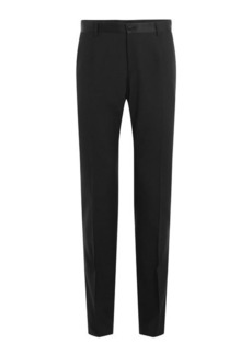 Dolce & Gabbana Virgin Wool Pants with Silk
